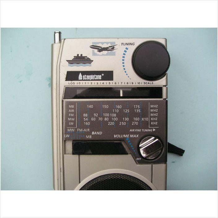 Steepletone Air Band radio MW LW FM AIR MARINE | Inspiration