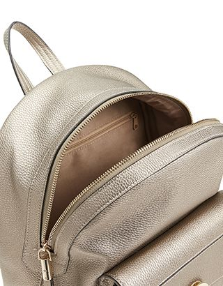 0cda882984d428 Accessorize | Mini Jude Lock Backpack | Gold | One Size | LEATHER ...