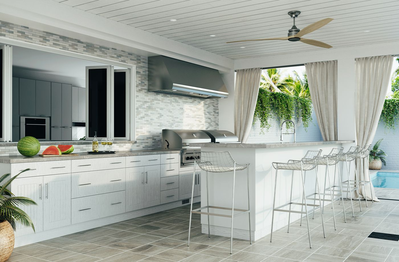 Costco Weatherstrong Outdoor Cabinetry In 2020 Outdoor Kitchen Home Decor