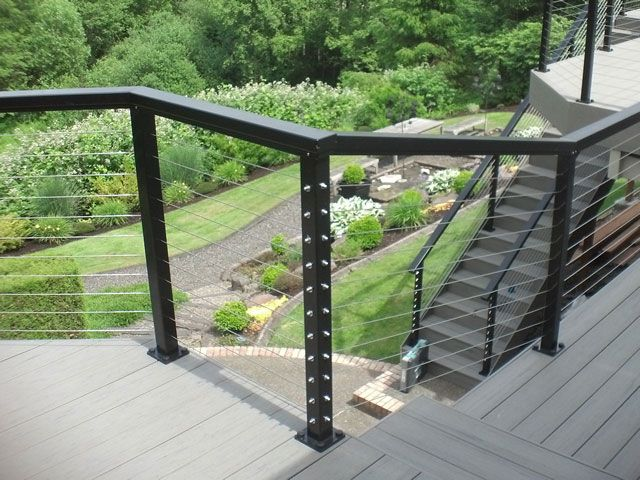 Cable Railing Deck And Infill Systems Cable Railing Direct In 2020 Cable Railing Systems Cable Railing Cable Railing Deck