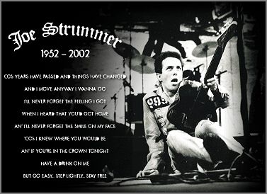 joe strummer quotes - Google Search | Joe Strummer In ...