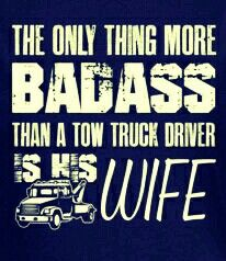 Tow truck wife