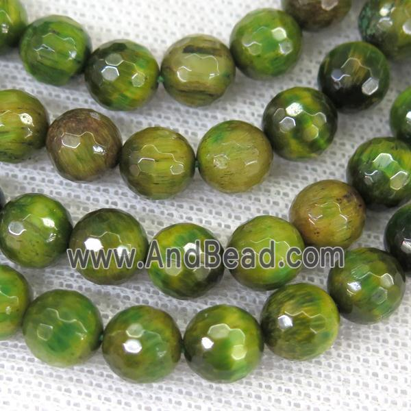 Faceted Round Olive Tiger Eye Stone Beads Gb11979 10mm Approx 10mm Dia In 2020 Tiger Eye Stone Stone Beads Gemstone Beads Wholesale