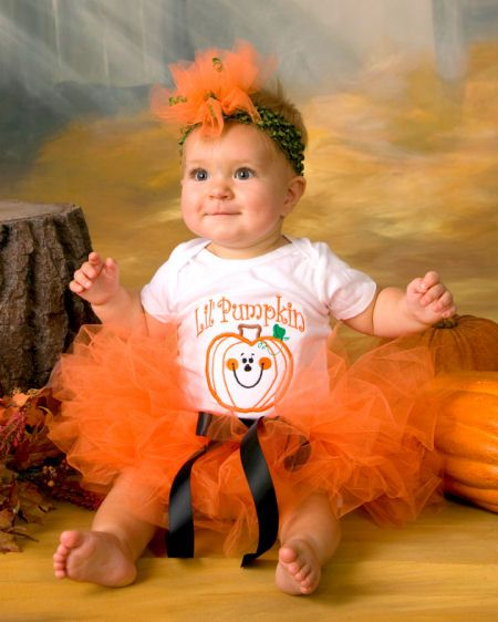 halloween boo tique baby girl tutu outfit 2162 wonder - Baby Halloween Pictures
