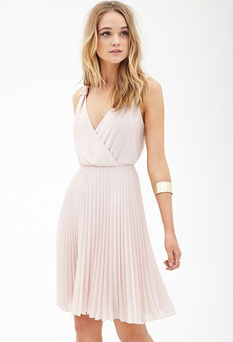 Pleated Chiffon Dress Forever21 2000121712