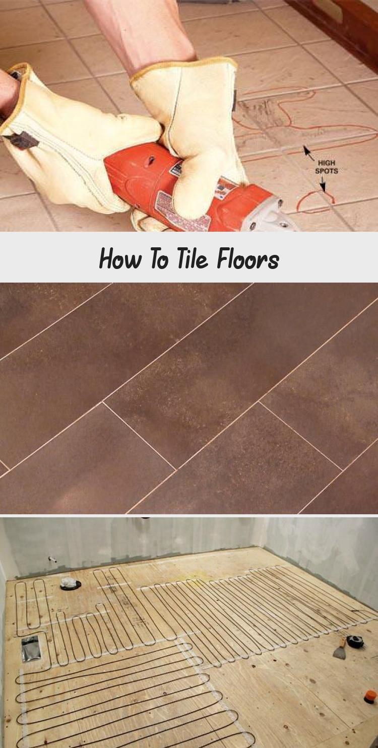 How To Tile Floors How To Lay Tile Plank Tile Flooring Tile