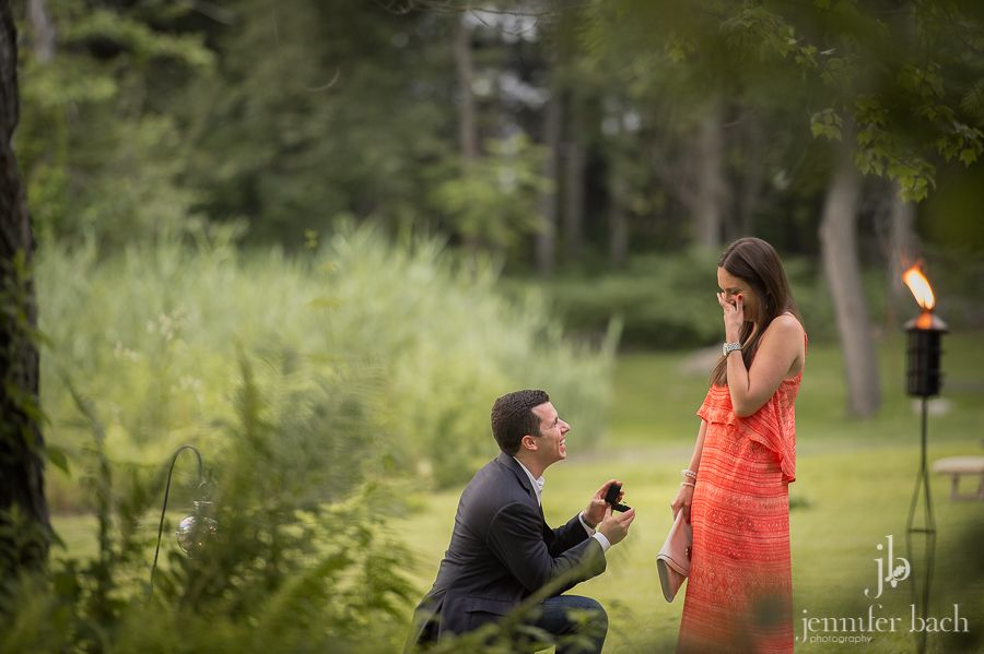 We were honored to record Matt & Julie's beautiful proposal at the Bee and Thistle Inn