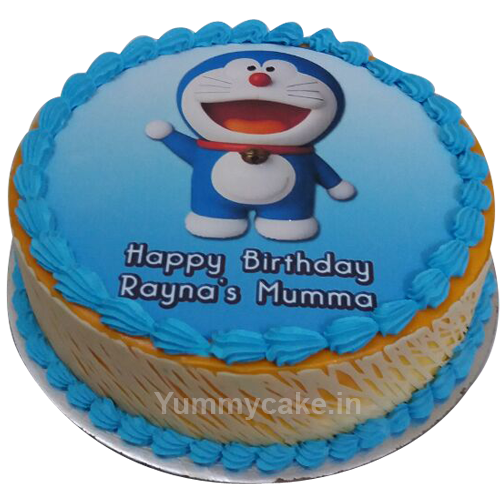 Doraemon Birthday Cake 1KG INR1099 Free Online Delivery in Delhi