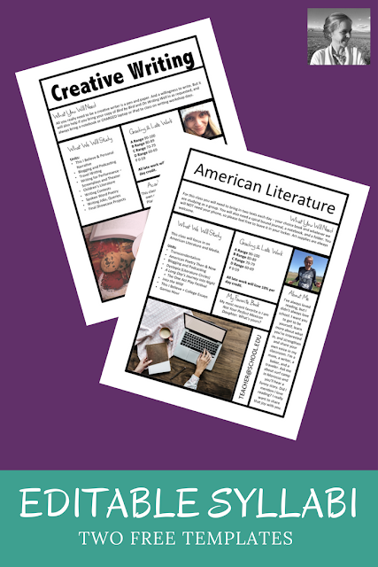 Free Syllabus Templates For Teachers Middle School