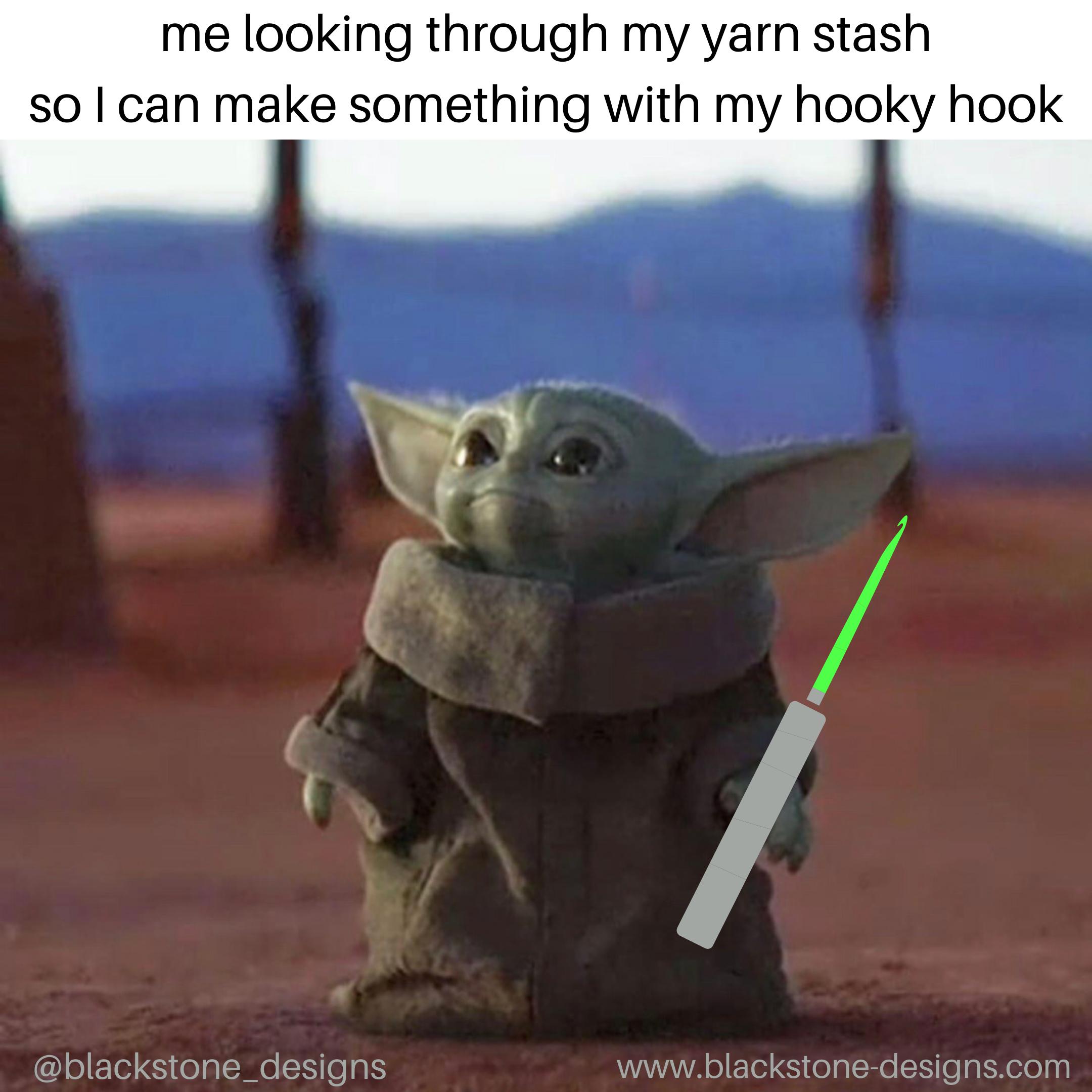 Baby Yoda Crochets Too Yoda Meme Yoda Funny Star Wars Memes