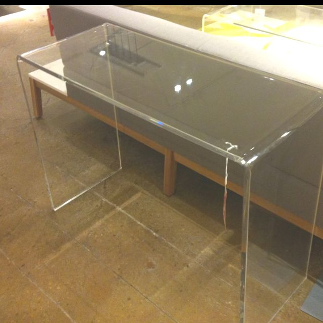 Acrylic Table At CB2