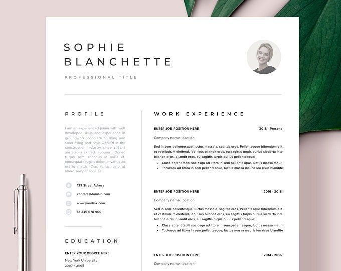 Curriculum Vitae Son Cevap In 2020 Cv Template Resume Template Free Business Card Templates