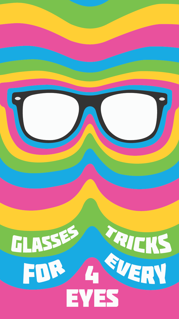 A few tips and tricks for people who wear glasses.  Image: Flickr, Mayeesherr