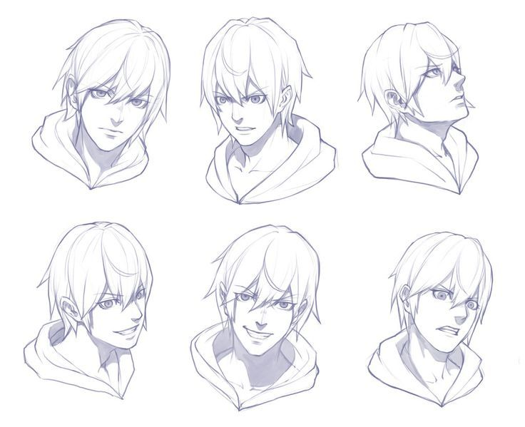 Pin By Ferox On Drawings Face Sketch Anime Male Face Anime Drawings