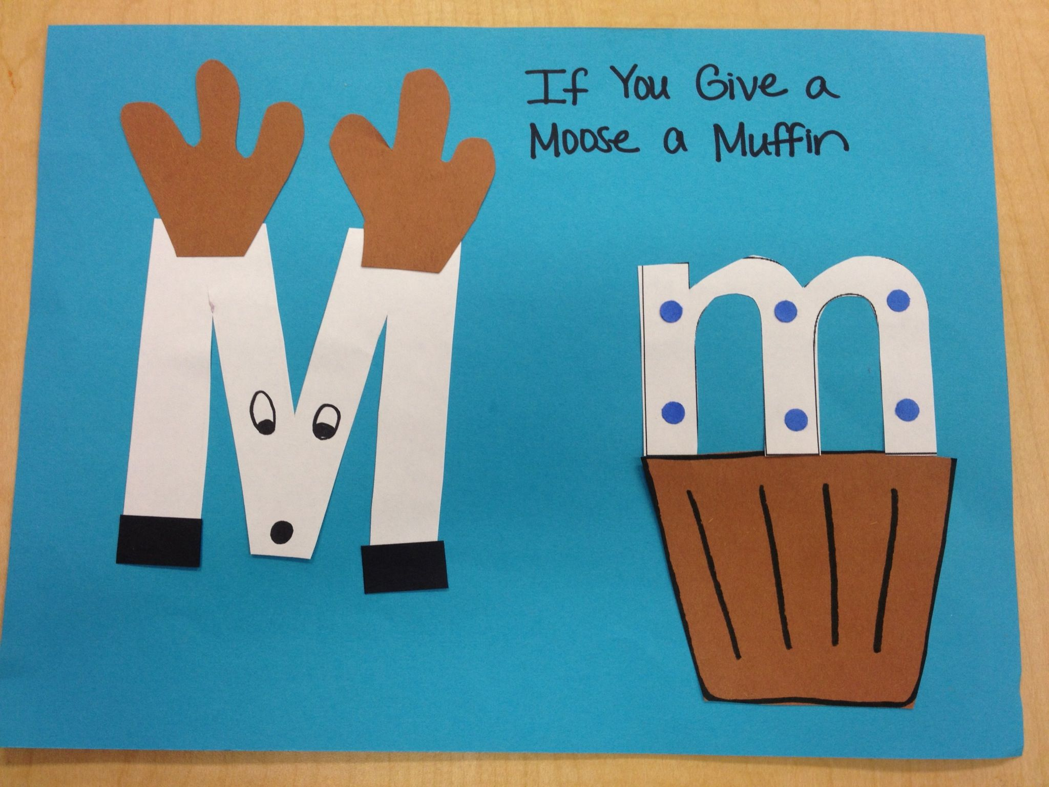 Letter Mm Study With If You Give A Moose A Muffin
