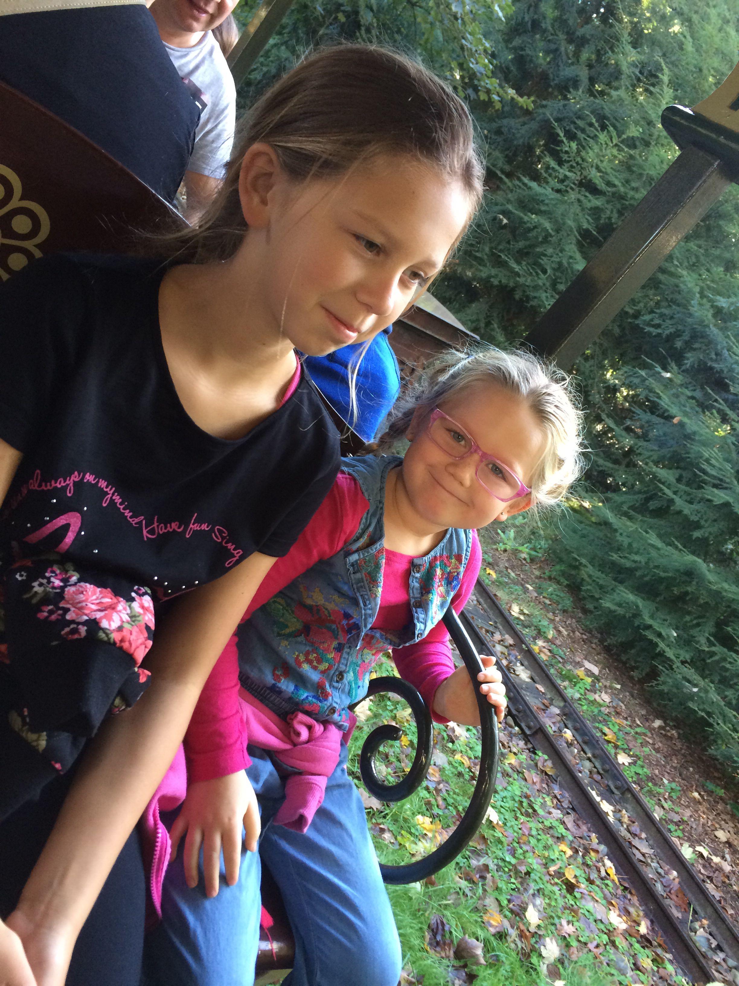 In de trein van de Efteling