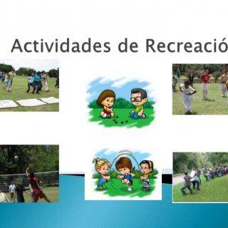 Se entiende por recreación a todas aquellas actividades y situaciones en las cuales esté puesta en marcha la diversión, como así también a través de ella la. http://slidehot.com/resources/actividades-de-recreacion.64317/