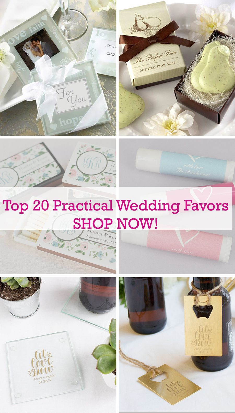Looking For The Perfect Practical Wedding Favors We Ve Rounded Up Our Top 20 Favorite Pract Practical Wedding Favors Inexpensive Wedding Favors Wedding Favors