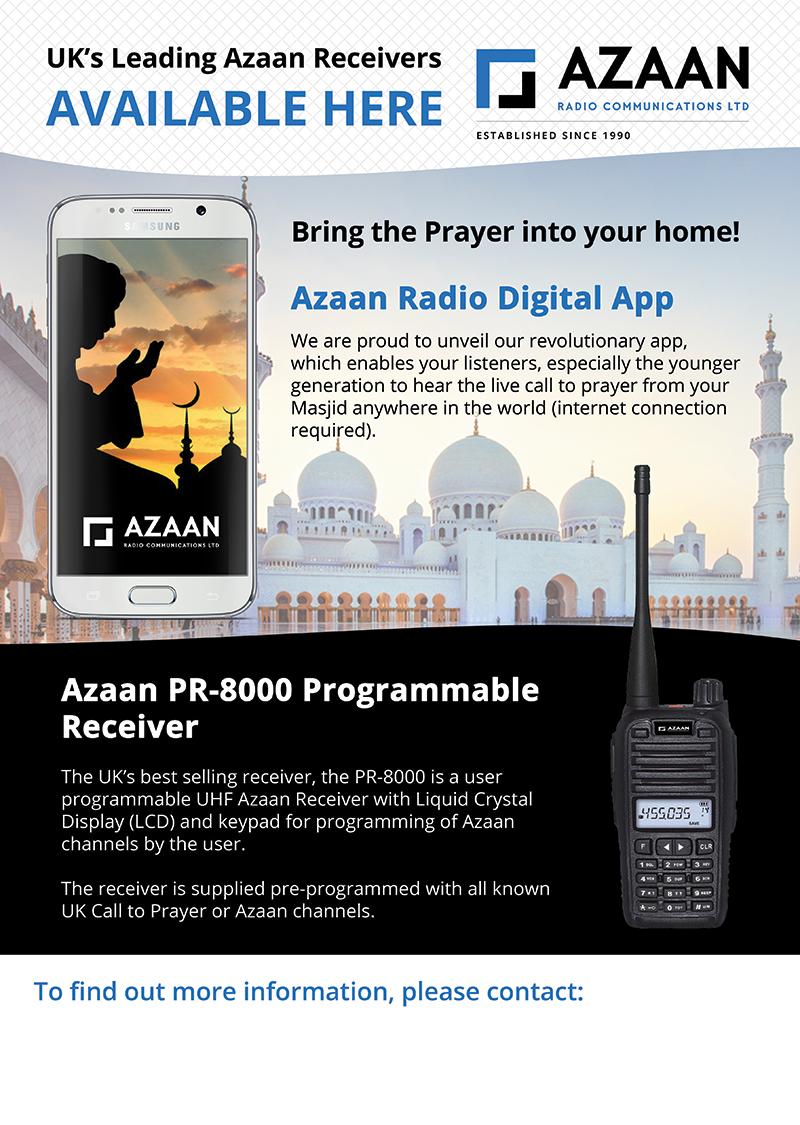 Poster design app android - Azaan Radio A3 Single Sided Poster Design By Design Freak Azaan Calltoprayer