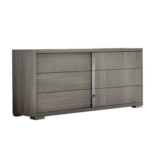 Best Bellami Nightstand Double Dresser Dresser Grey Oak 400 x 300