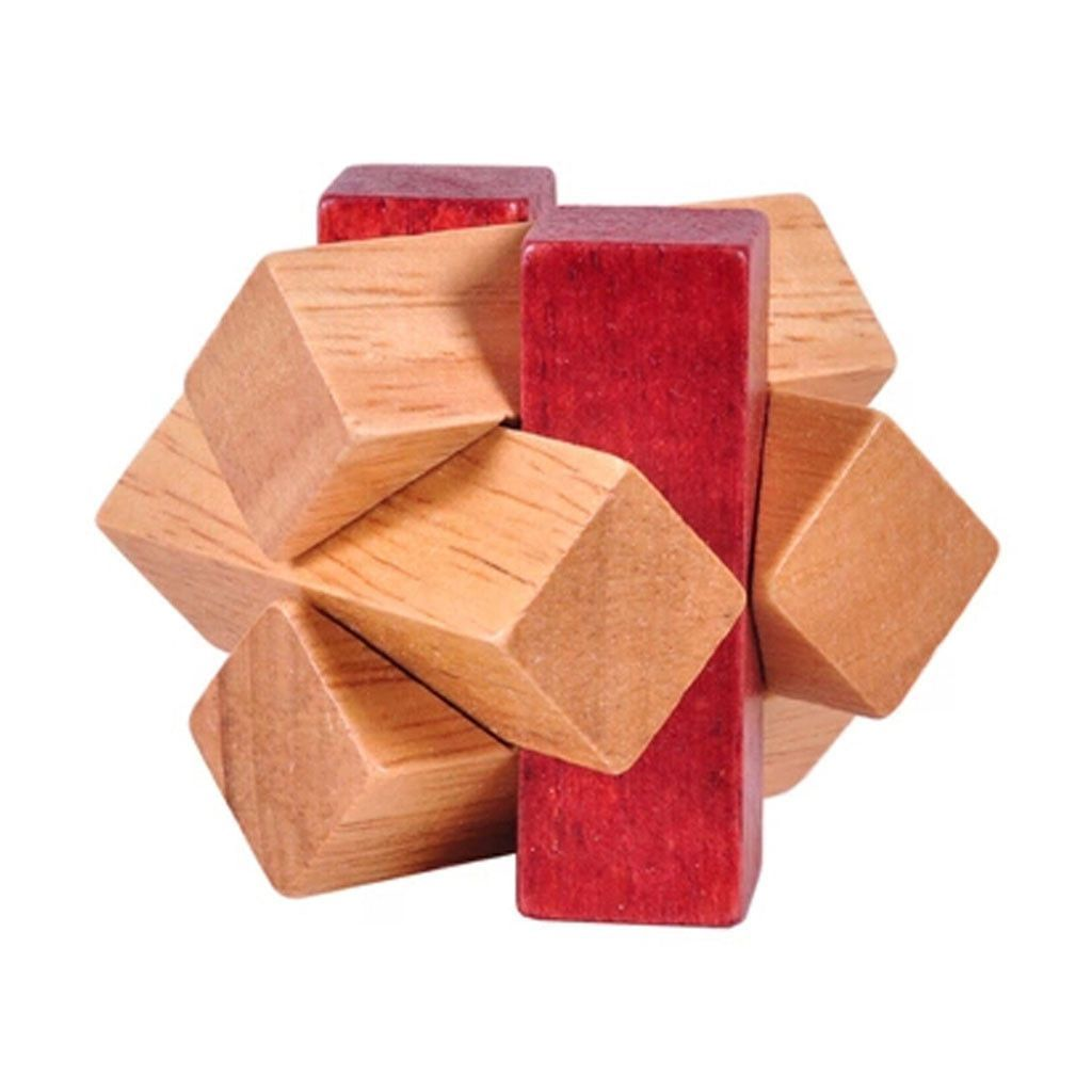 Classic IQ Brain Teaser 3D Wooden Puzzles - FREE Shipping