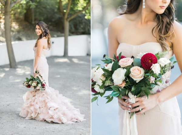 Blush Marsala Does It Get Any Prettier Than This Style Me Little Black Bookswedding Seasoncalifornia
