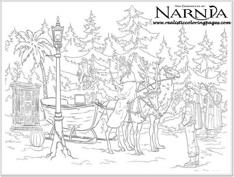 Realistic Coloring Pages For Adults Img 949124 Narnia Adult