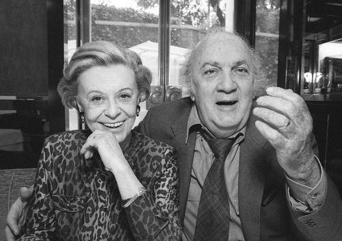 Giulietta Masina & Federico Fellini  #GiuliettaMasina #actress #italian…