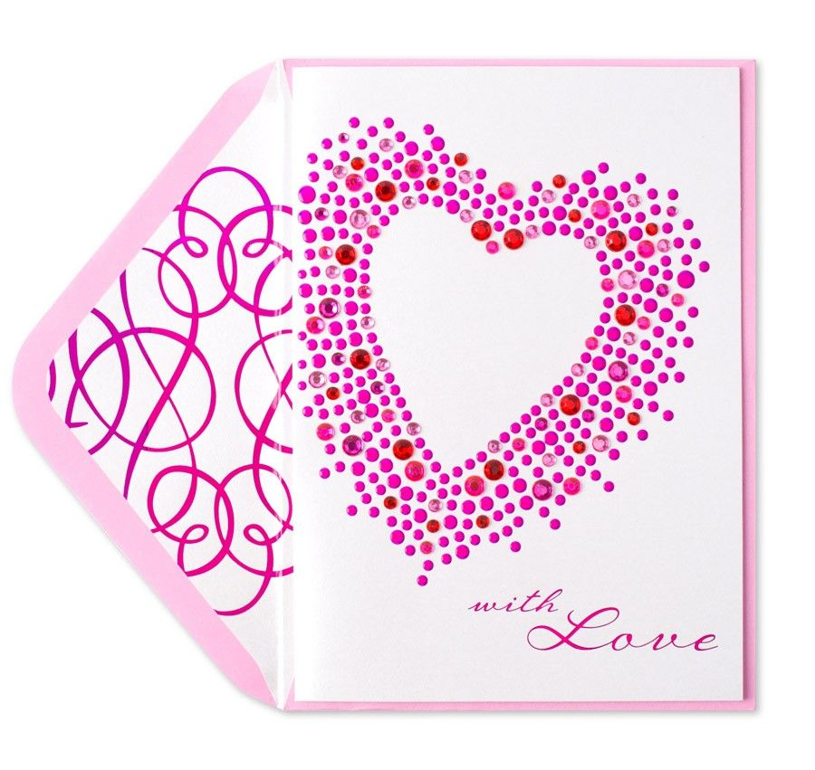 PAPYRUS  Purple Floral Heart Happy Birthday Card Gorgeous Retails for $7.95