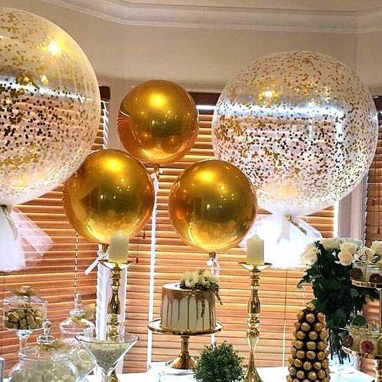 Картинки по запросу шар сфера золотой | Гелиевые шары ...