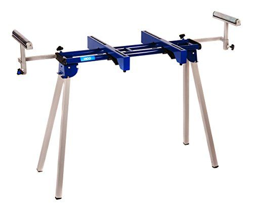 HICO UWC1201 Folding Miter Saw Stand with Machine Mounts and Material Roller Supports  http://www.handtoolskit.com/hico-uwc1201-folding-miter-saw-stand-with-machine-mounts-and-material-roller-supports/