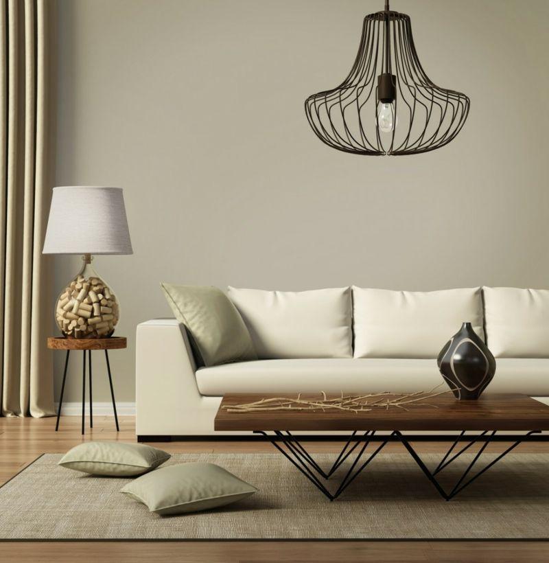 Skandinavisch Wohnen Wohnzimmer Lampe Mobel Deko Einrichtung