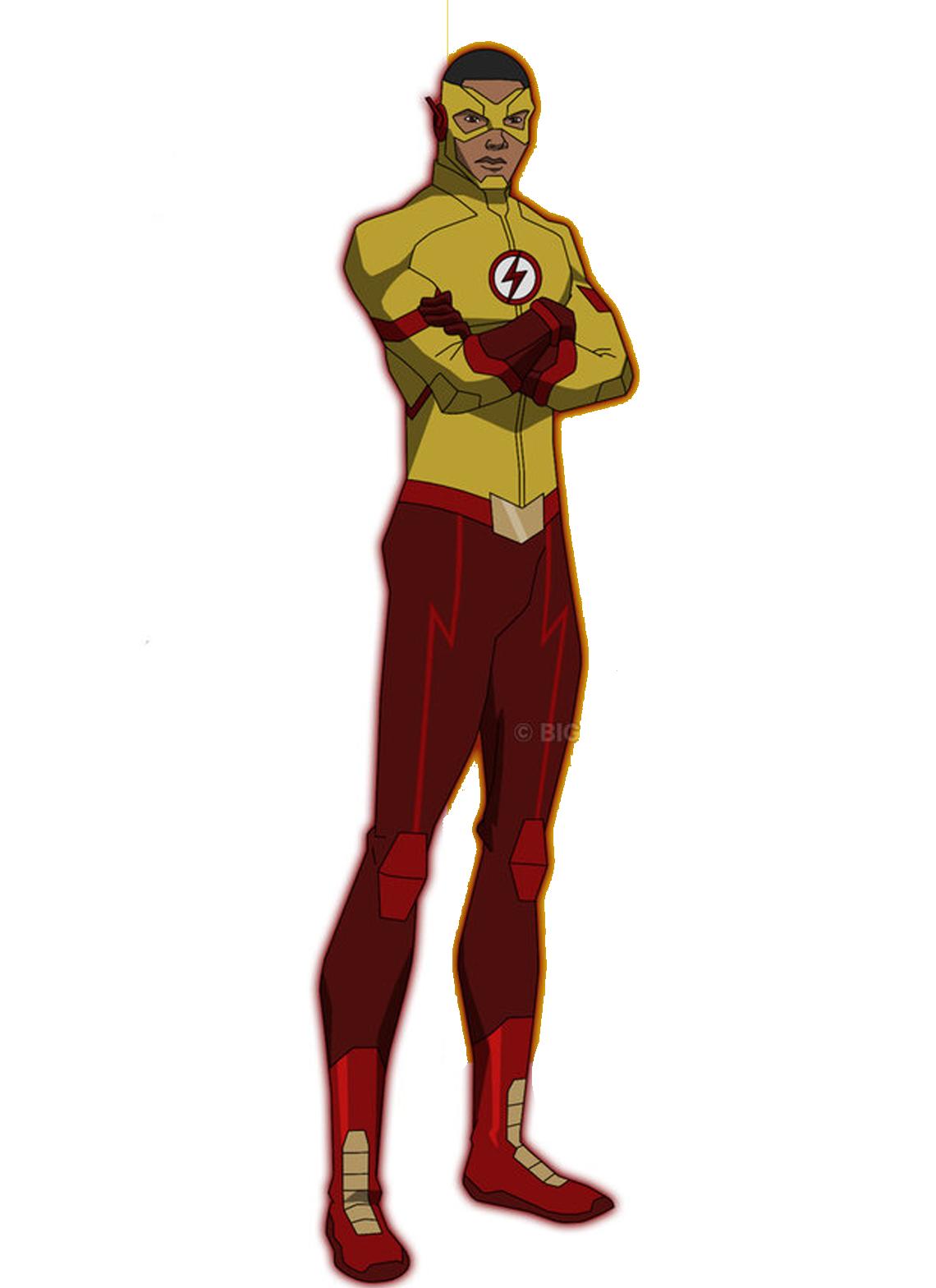 Kid Flash Wally West Kid Flash Dc Comics Superhero