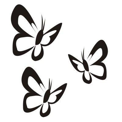 Schmetterling Motive zum Einfärben | Tattoos | Pinterest ...