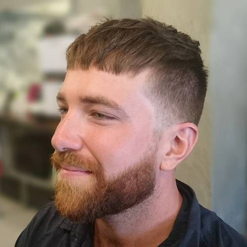 Caesar Haircut Ideas: 20 Best Men`s Styles for 2020 (With images ...