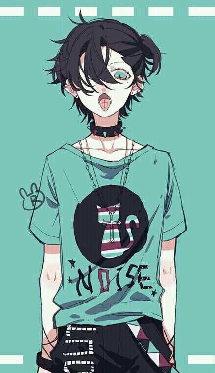 Scaryxkawaii Anime Boy