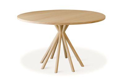 LYHTY   pyöreä pöytä.