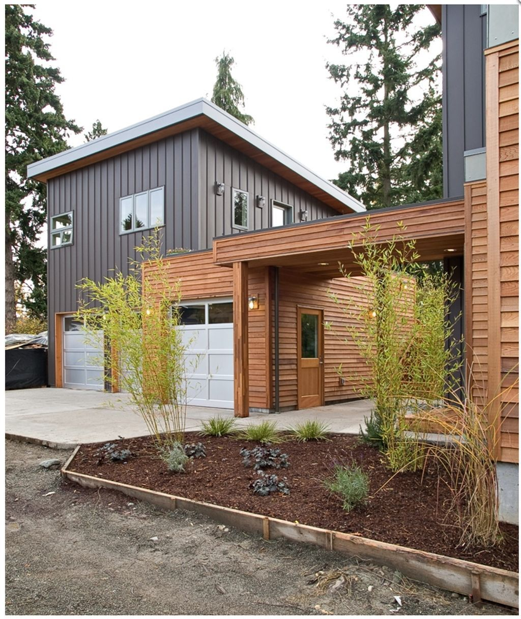 Awesome 20 Cute Home Garage Design Ideas For Your Minimalist Home Garage Design Garage House Modern Garage