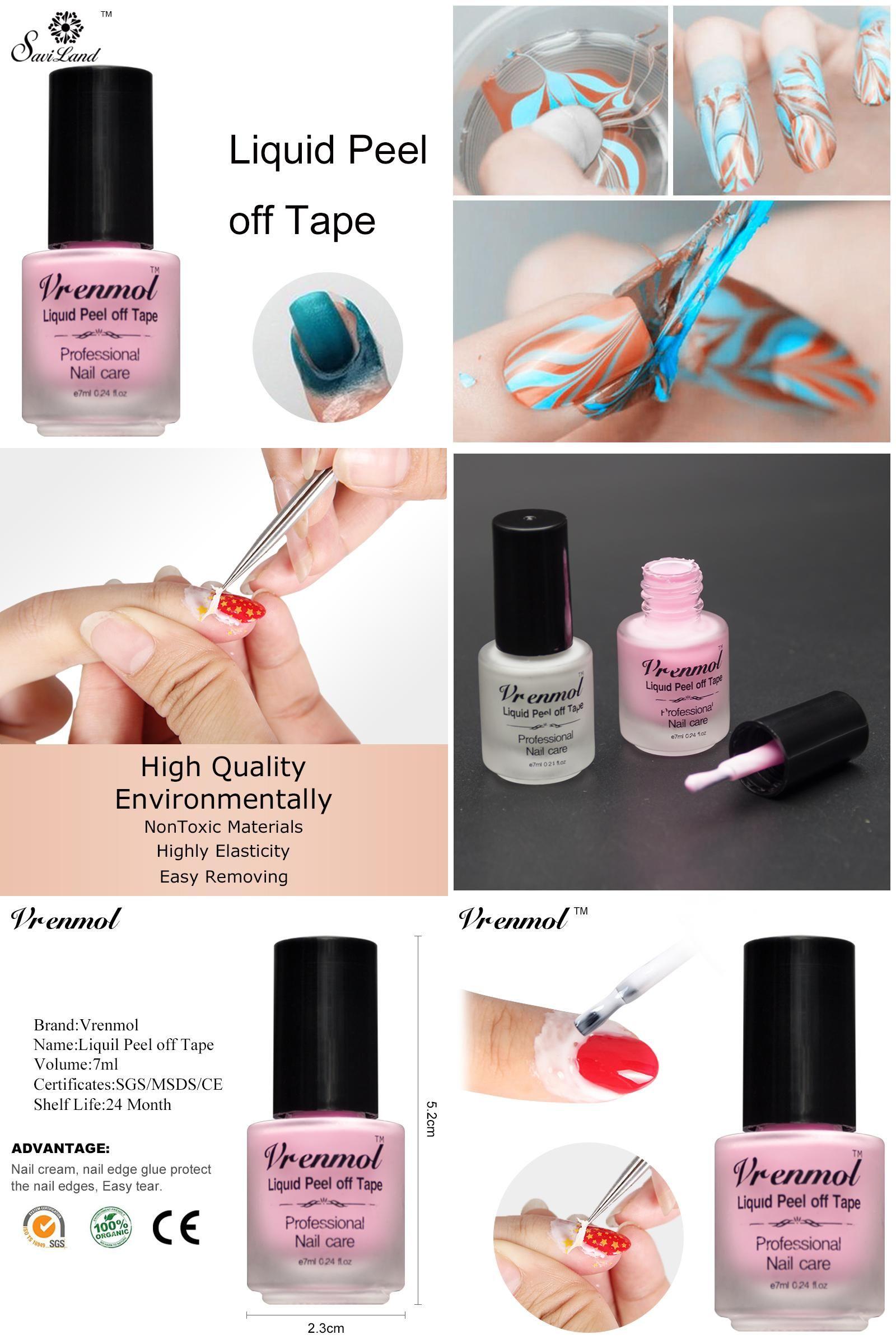 Visit To Buy Vrenmol Skin Protected Vernis Peel Off Nail Glue