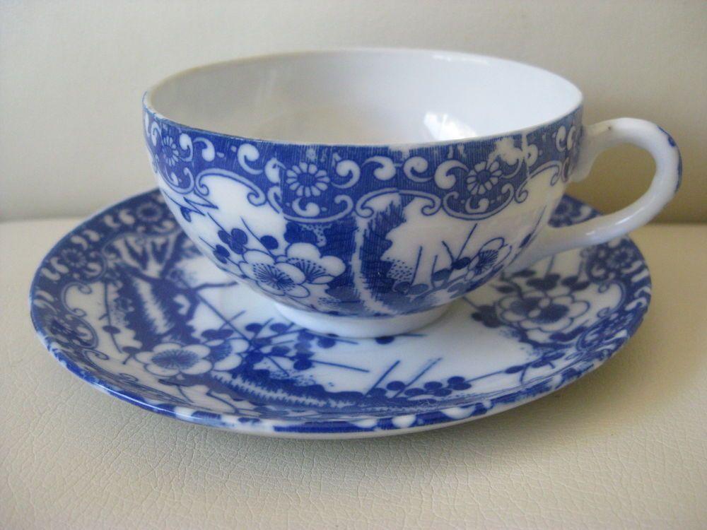 Details about Set of Ice Crack  Porcelain 8 Pcs Unique Chinese Fish Bowl Tea Cu