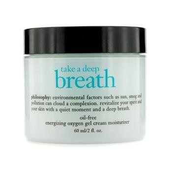 """Philosophy Take A Deep Breath Oil-free Energizing Oxygen Gel Cream Moisturizer"