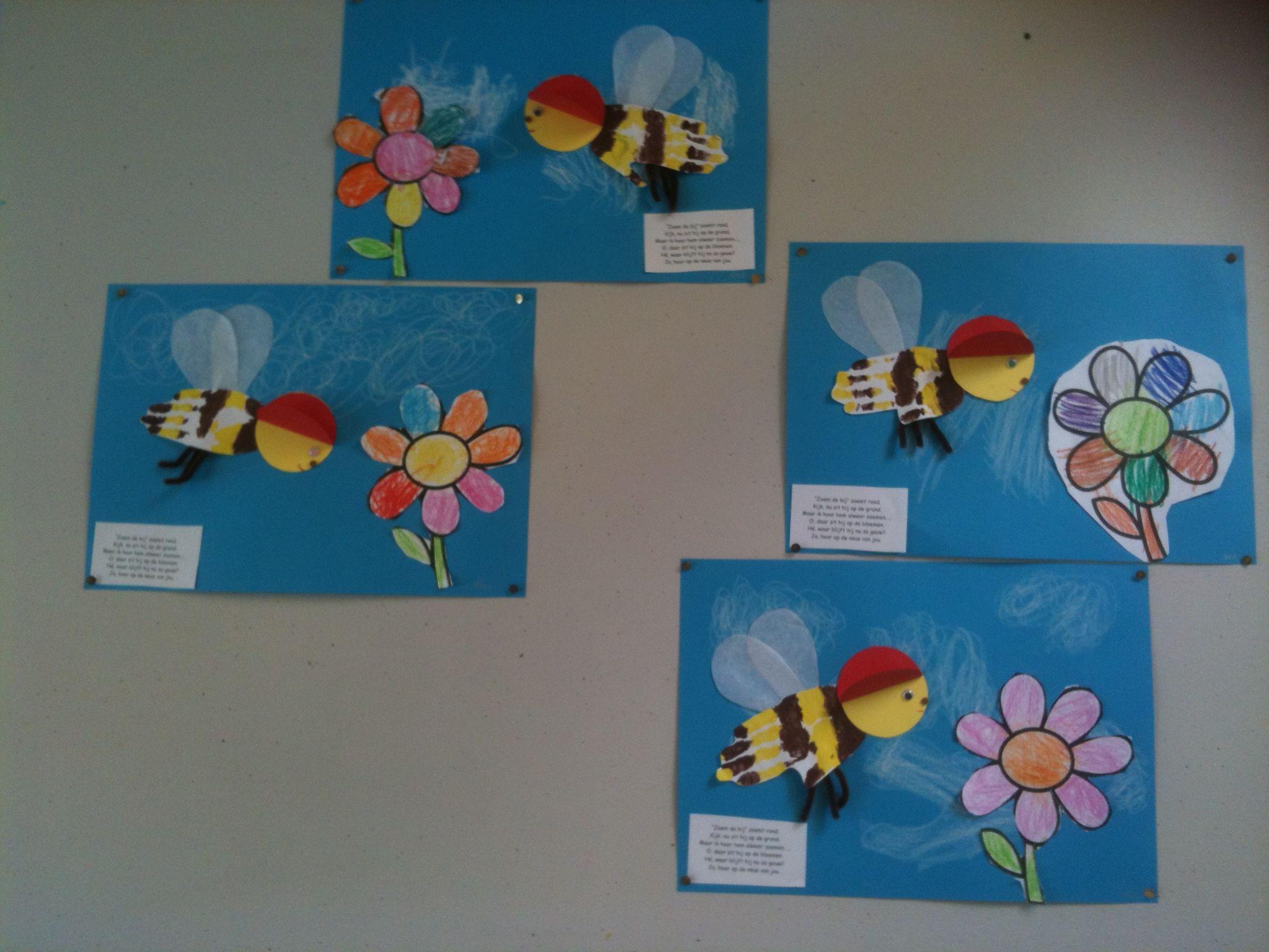 Groep 3 | klas | Pinterest | Abeja, Primavera y Manualidades primavera