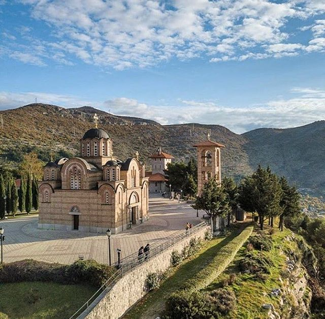 Besides the #monastery which is a true copy of the monastery of - copy kosovo map in world