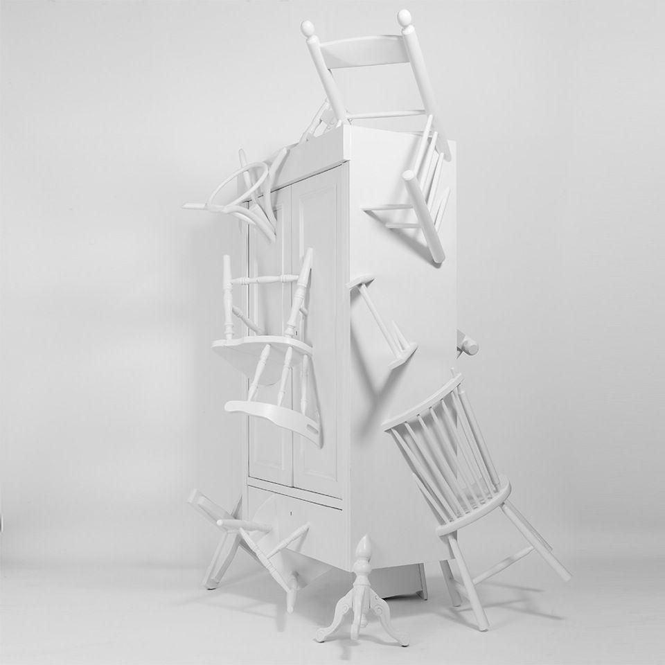 The Trash Closet by Dutch designers Marijke & Sander Lucas. Photography by Rene Mesman