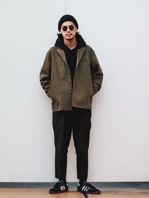 downey lui s 池袋店 son of the cheeseのパーカーを使ったコーディネート wear トレンド コーデ ファッション パーカー