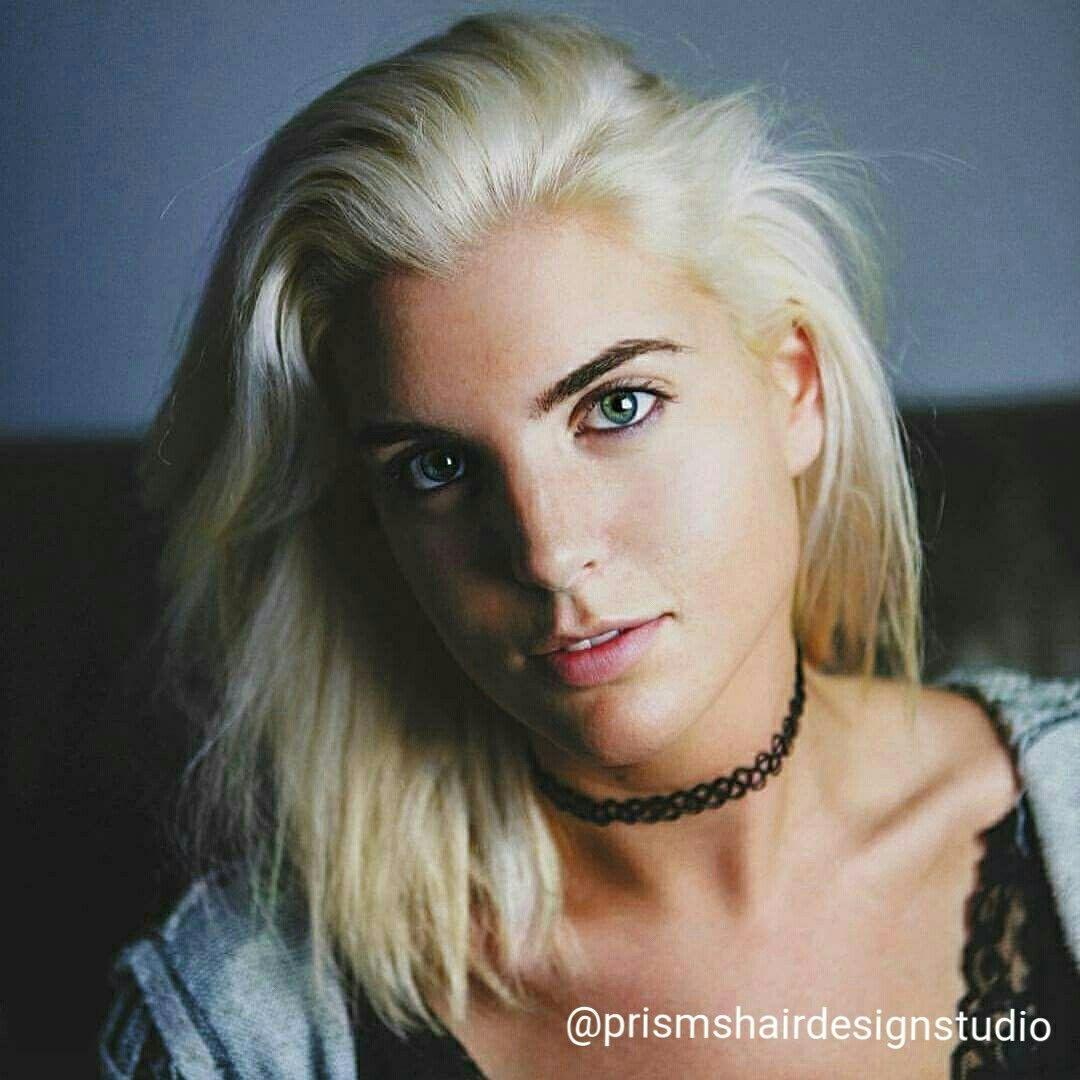 Platinum Color By Lisa Graveline Prisms Hair Design Studio
