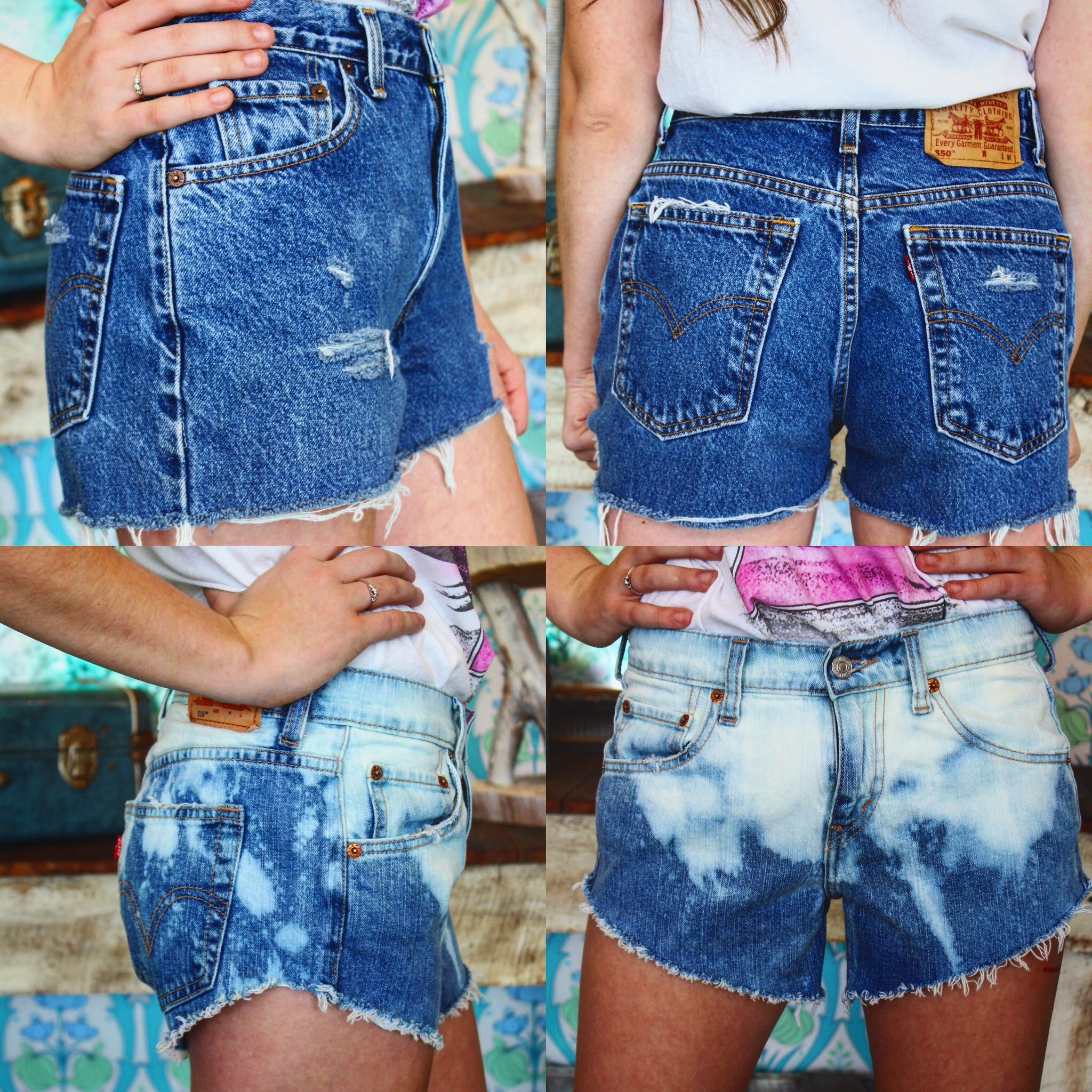 Just a few more of our fav pieces from our new distressed shorts line