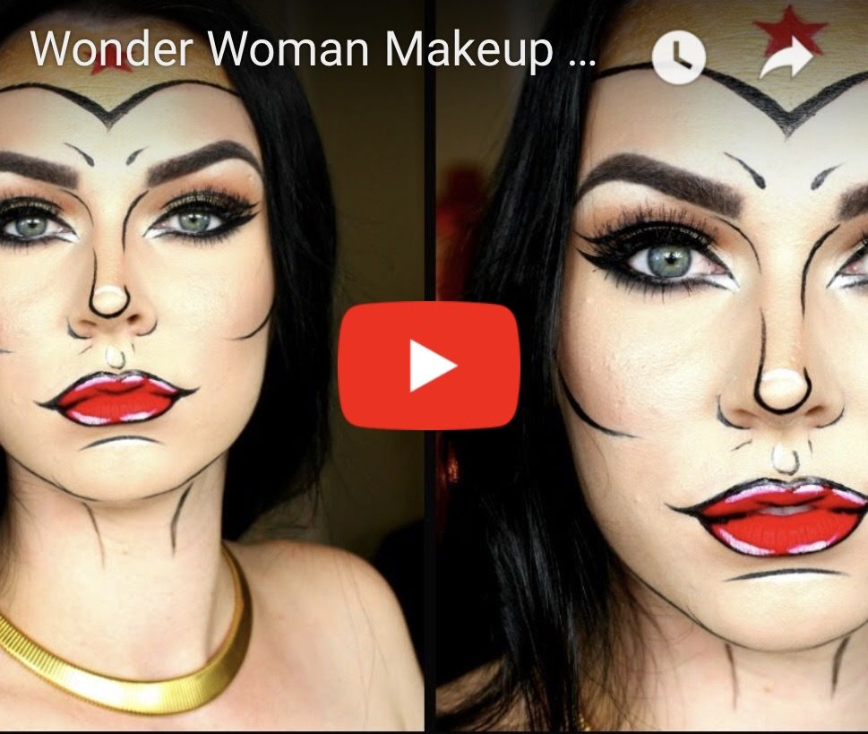 Shocking halloween makeup check out the blog for our top