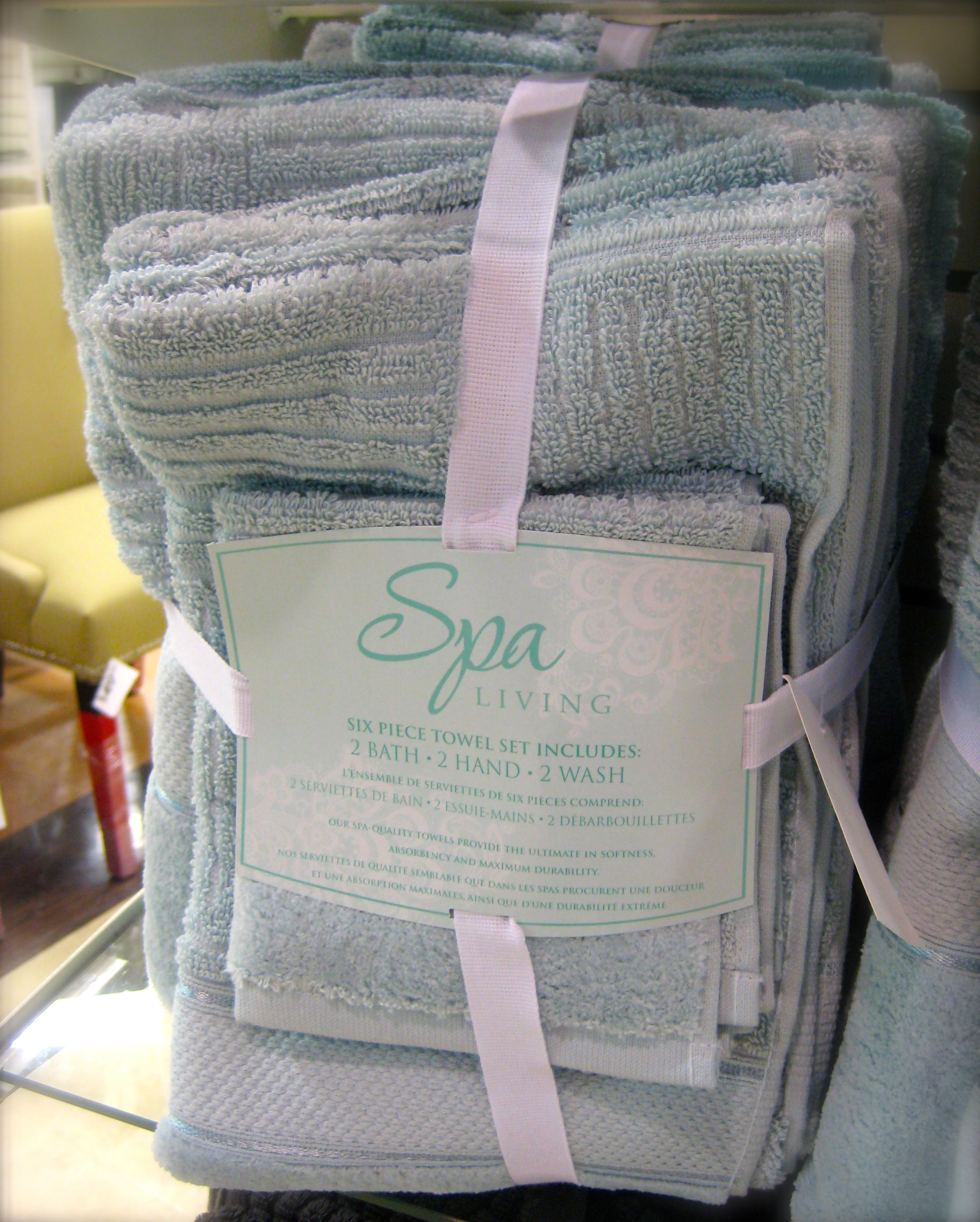 #Spring Trend Alert Spa Towel Set $2999 At Homesense (Seen