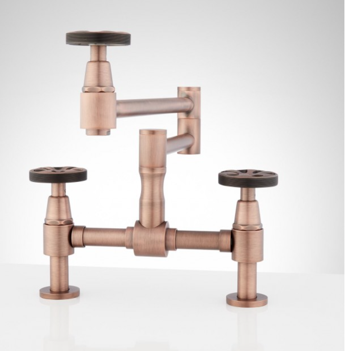 Steampunk Faucet Is This Too Industrial Steampunk Kitchen Steampunk Bathroom Unique Faucets [ 1130 x 1114 Pixel ]